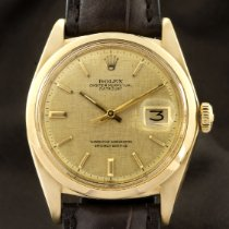 Rolex Or jaune Remontage automatique 36mm occasion Datejust