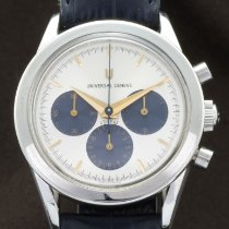 Universal Genève Steel 36mm Manual winding Compax pre-owned