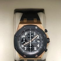 Audemars Piguet Royal Oak Offshore Chronograph Roségold 42mm Grau Arabisch Deutschland, Verl