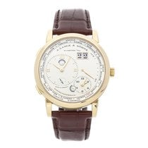 A. Lange & Söhne Lange 1 Yellow gold 41.9mm Champagne Roman numerals United States of America, Pennsylvania, Bala Cynwyd