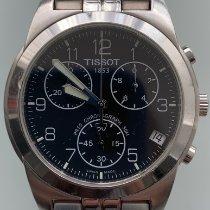 Tissot PR 50 Zeljezo 38mm Crn Arapski brojevi