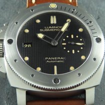 Panerai Special Editions Titanio 47mm Negro Sin cifras