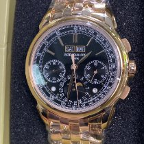 Patek Philippe Perpetual Calendar Chronograph Rose gold 41mm Black No numerals United States of America, New York, Manhattan