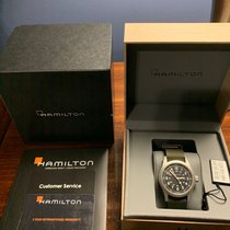 Hamilton Khaki Field Steel 38mm Black United States of America, New Jersey, Bridgewater