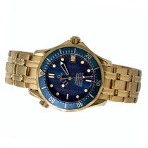 Omega Yellow gold 36mm Automatic Seamaster Diver 300 M pre-owned United States of America, New York, Greenvale