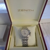 Zenith El Primero Chronomaster Stahl Silber Römisch Österreich, Wien