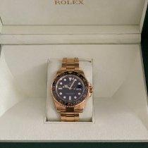 Rolex Geelgoud Automatisch Zwart Geen cijfers 40mm tweedehands GMT-Master II