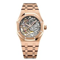 Audemars Piguet Royal Oak Double Balance Wheel Openworked 15467OR.OO.1256OR.01 Nuovo Oro rosa 37mm Automatico