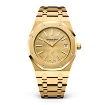 Audemars Piguet Yellow gold Automatic Gold 39mm new Royal Oak Jumbo