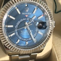 Rolex Sky-Dweller Steel 42mm Blue No numerals United Kingdom, Holmes Chapel