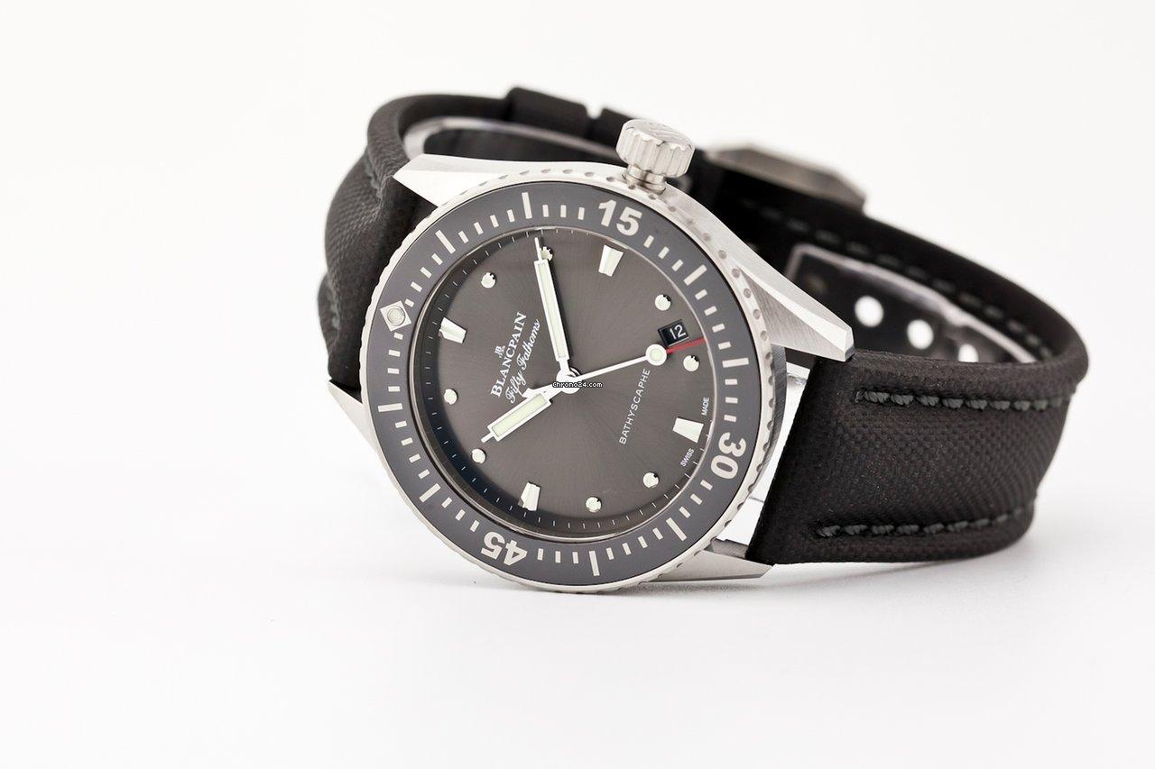 Blancpain Fifty Fathoms Bathyscaphe 5100B-1110-B52A 2020 new