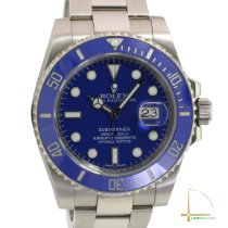 Rolex Submariner Date White gold 40mm Blue No numerals United States of America, California, Los Angeles