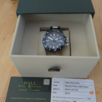 Ball Engineer Hydrocarbon Titan 42mm Plav-modar Bez brojeva