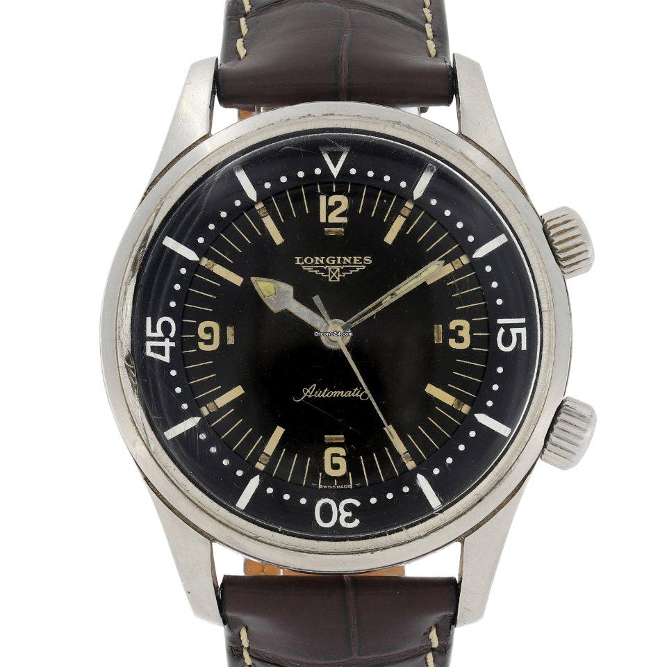 Longines Legend Diver 7594 1964 pre-owned