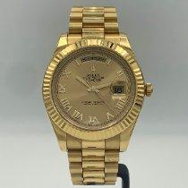 Rolex Day-Date II Yellow gold 41mm Gold Roman numerals United States of America, California, Santa Monica