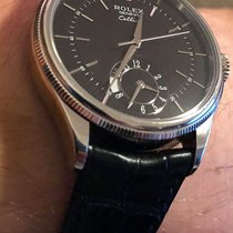Rolex Cellini Dual Time White gold 39mm White No numerals Australia, Bondi Junction