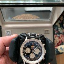 Breitling Navitimer Ocel 43mm Černá Arabské