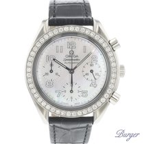 Omega Speedmaster Ladies Chronograph Acier 39mm Nacre Arabes