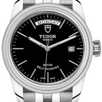 Tudor Glamour Date-Day new Automatic Watch with original box M56000-0008
