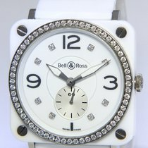 Bell & Ross Women's watch BR S 39mm Quartz pre-owned Watch with original box and original papers 2011