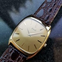 Piaget pre-owned Manual winding 30mm Gold Sapphire crystal