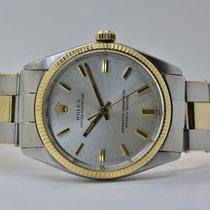 Rolex Oyster Perpetual 34 Gold/Stahl 34mm Silber Keine Ziffern Deutschland, Iffezheim