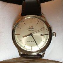Orient Bambino Ocel 40.5mm Bílá Bez čísel