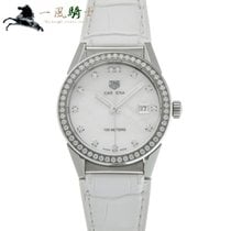 TAG Heuer Carrera Lady pre-owned 36mm White Leather