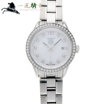 TAG Heuer Carrera Lady pre-owned 27mm White Steel