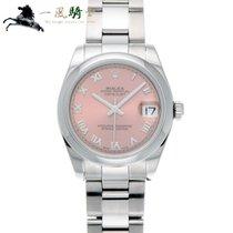Rolex Lady-Datejust Stahl 31mm Pink