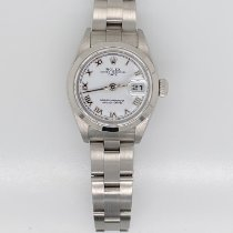 Rolex Oyster Perpetual Lady Date Steel 26mm White Roman numerals United Kingdom, Kendal