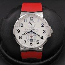 Ulysse Nardin Marine Chronometer 41mm pre-owned 41mm White Rubber