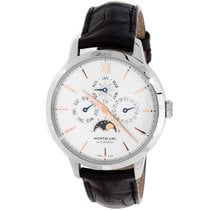 Montblanc Steel 39mm Automatic 110715 pre-owned
