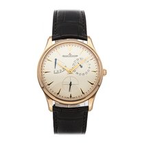 Jaeger-LeCoultre Master Ultra Thin Réserve de Marche Rose gold 39mm Silver No numerals United States of America, Pennsylvania, Bala Cynwyd