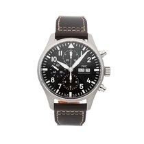 IWC IW3777-13 Acero Pilot Chronograph 43mm usados