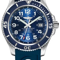 Breitling Superocean II 42 Steel 42mm Blue