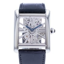 Cartier Palladium 34.5mm Manual winding W5310026 pre-owned