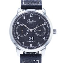 Glashütte Original Senator Observer Steel 44mm Black United States of America, Georgia, Atlanta