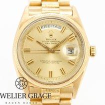 Rolex Day-Date Gelbgold Gold Keine Ziffern