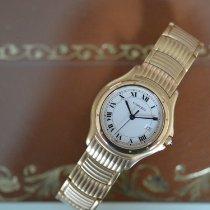 Cartier Cougar Gelbgold 33mm Weiß Römisch