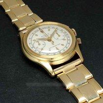 Rolex Chronograph Yellow gold 30mm White No numerals