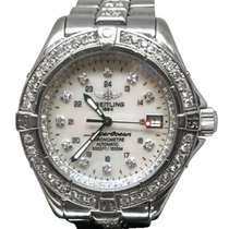 Breitling Superocean Steel 42mm Mother of pearl No numerals United States of America, New York, NEW YORK CITY
