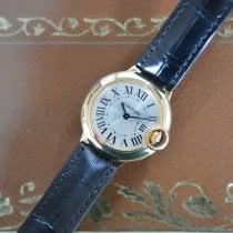 Cartier Ballon Bleu 28mm Gelbgold 28mm Silber Römisch