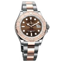 Rolex Yacht-Master 40 Gold/Steel 40mm Brown No numerals United States of America, New York, New York