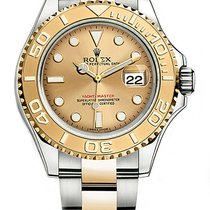 Rolex Yacht-Master 40 Gold/Steel 40mm Champagne No numerals United States of America, New York, New York