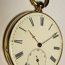 파텍필립 Patek Philippe & Cie Geneve 18K Gold Taschenuhr 1880 보통 옐로우골드 수동감기