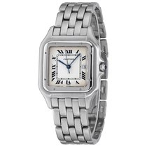 Cartier Panthère Steel 30mm Silver Roman numerals United States of America, New York, Greenvale