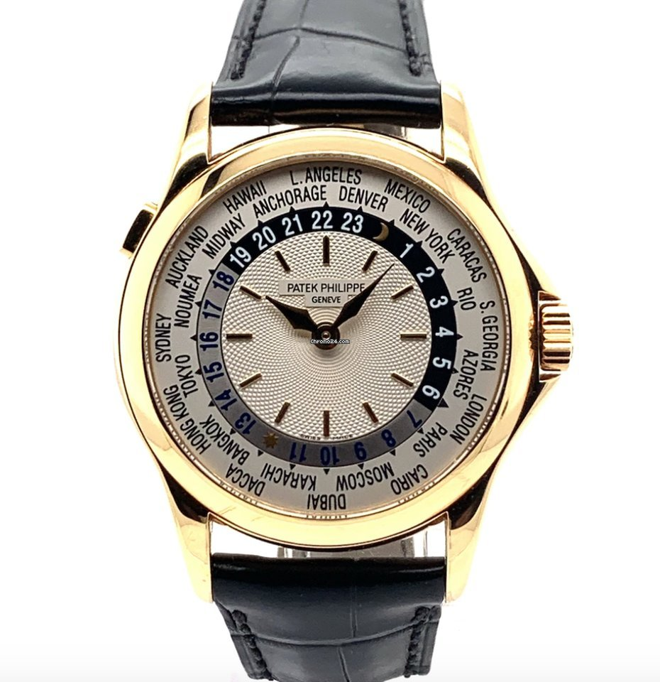 Patek Philippe World Time 5110J-001 2003 pre-owned