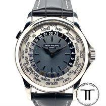 Patek Philippe World Time 5110P-001 Bueno Platino 37mm Automático
