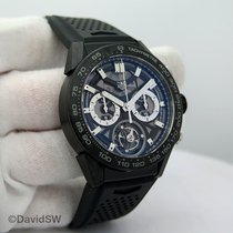 TAG Heuer Carrera Heuer-02T Titanium 45mm Black No numerals United States of America, Florida, Orlando